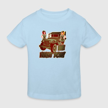 Digitalstoff Pinup-Girls: We want YOU! Tee shirts - T-shirt Bio Enfant