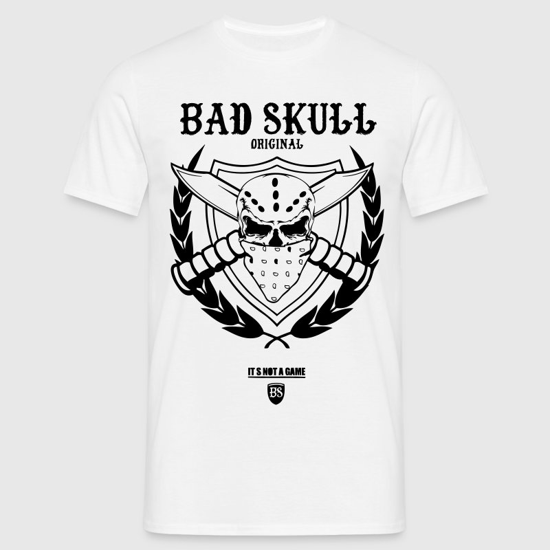 bad_skull_original_couteau_tee Tee shirts - T-shirt Homme