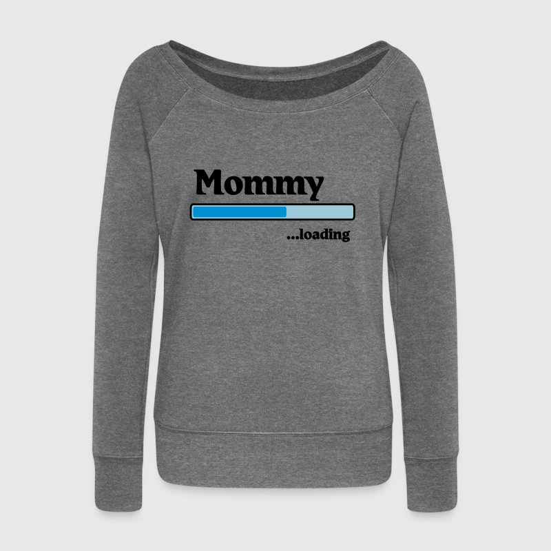Mommy Loading Sweat-shirts - Pull Femme col bateau de Bella