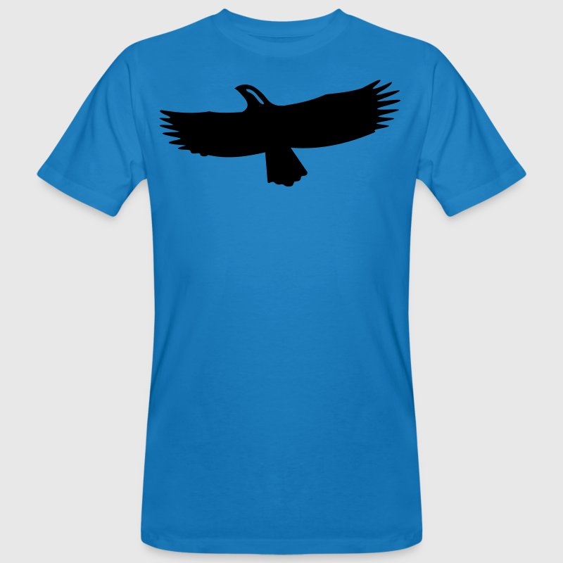 Shape eagle 1 Color Vector T-Shirts - Men's Organic T-shirt