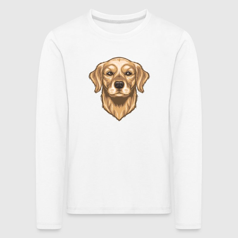 Golden Retriever Long Sleeve Shirts - Kids' Premium Longsleeve Shirt
