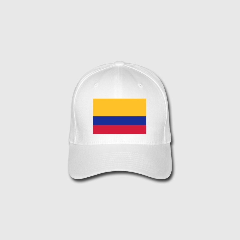 National Flag of Colombia Caps & Hats - Flexfit Baseball Cap