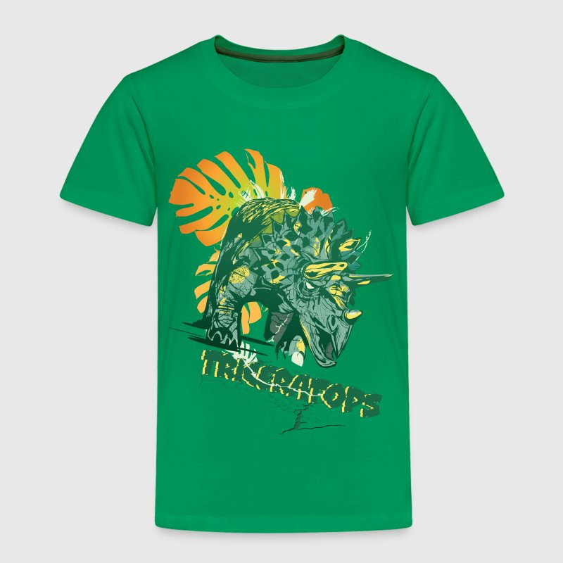 Animal Planet Kids T-Shirt Triceratops - Kids' Premium T-Shirt