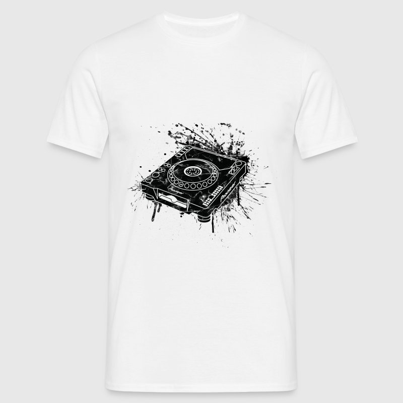 White CDJ 1000 Graffiti DJ Women's T-Shirts - Men's T-Shirt