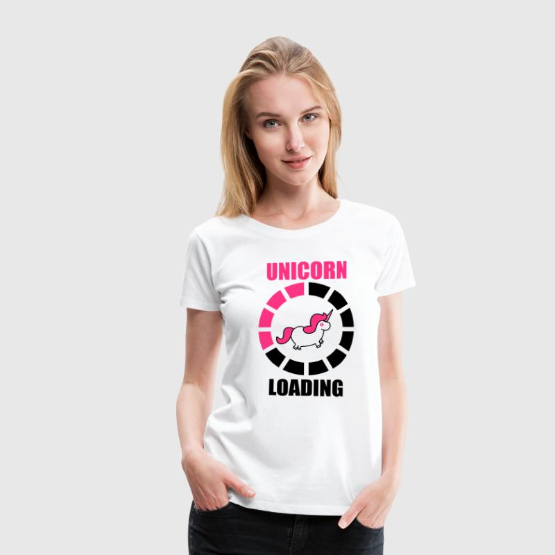 unicorn loading T-Shirts - Women's Premium T-Shirt