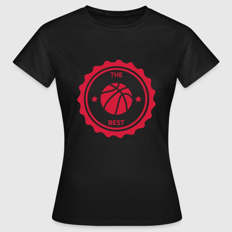 Basketball - Basket ball - Basket-ball - Baskette Tee shirts - T-shirt Femme