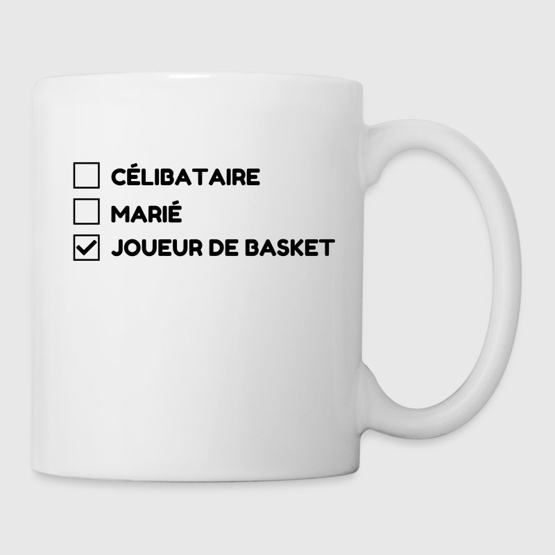 Basketball - Basket ball - Basket-ball - Baskette Bouteilles et Tasses - Tasse