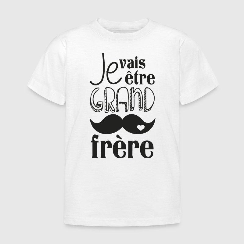 Super T-shirt Je vais être grand frère | Spreadshirt DW23