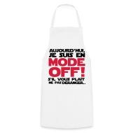 en mode off Tabliers , Tablier de cuisine
