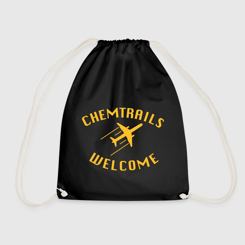 Chemtrails Welcome Bags & Backpacks - Drawstring Bag