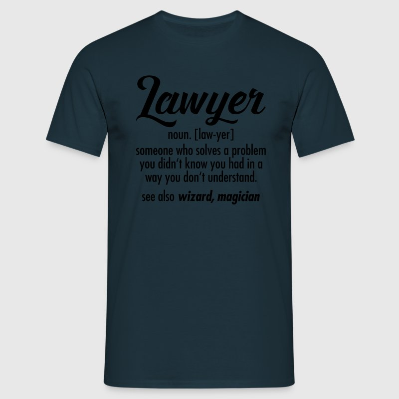 Lawyer - Definition T-shirts - Herre-T-shirt