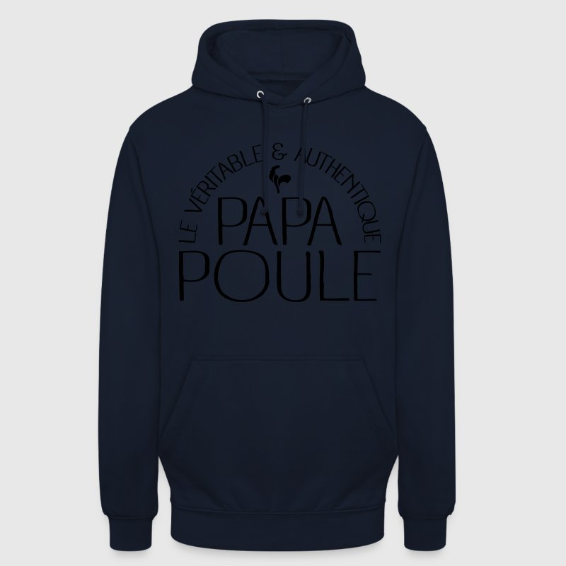 Papa Poule Sweat-shirts - Sweat-shirt à capuche unisexe
