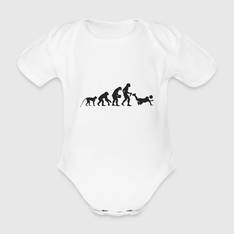 Evolution Volleyball Baby Bodys - Baby Bio-Kurzarm-Body