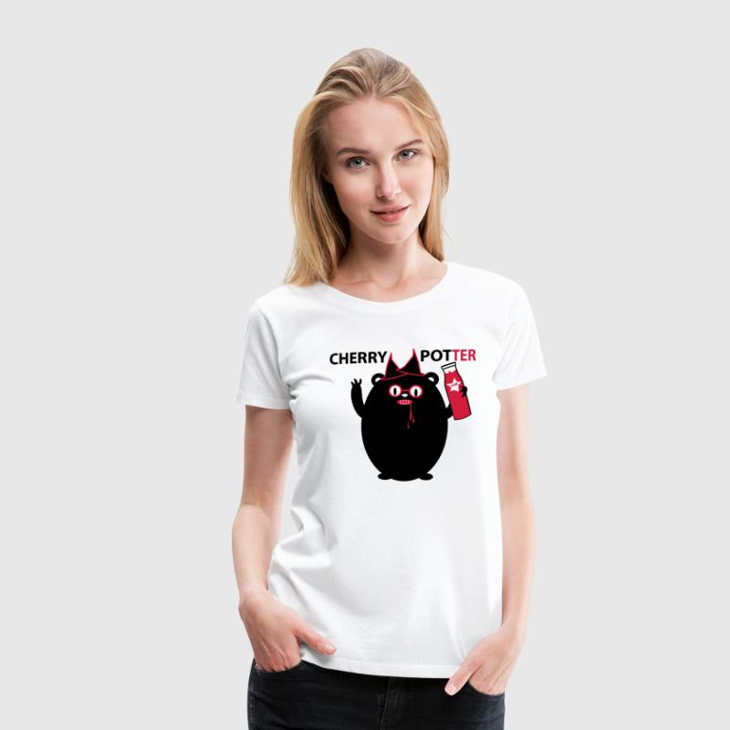 Cherry Potter - Frauen Premium T-Shirt