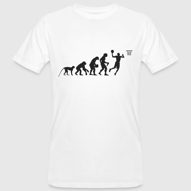 Evolution Basketball Magliette - T-shirt ecologica da uomo