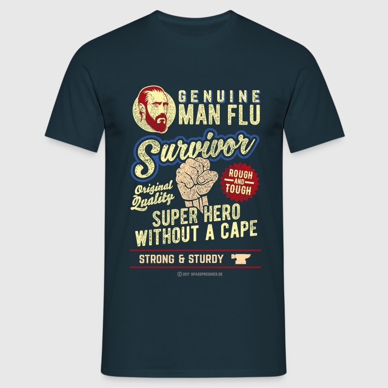 Man Flu Survivor T-Shirts - Men's T-Shirt