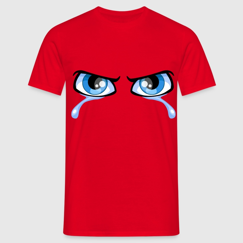 Eyes and tears - Men's T-Shirt