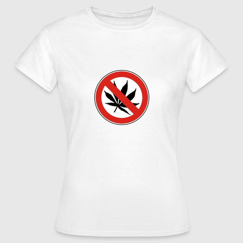 NO DRUGS / KEINE DROGEN | Frauen Basic Shirt - Frauen T-Shirt