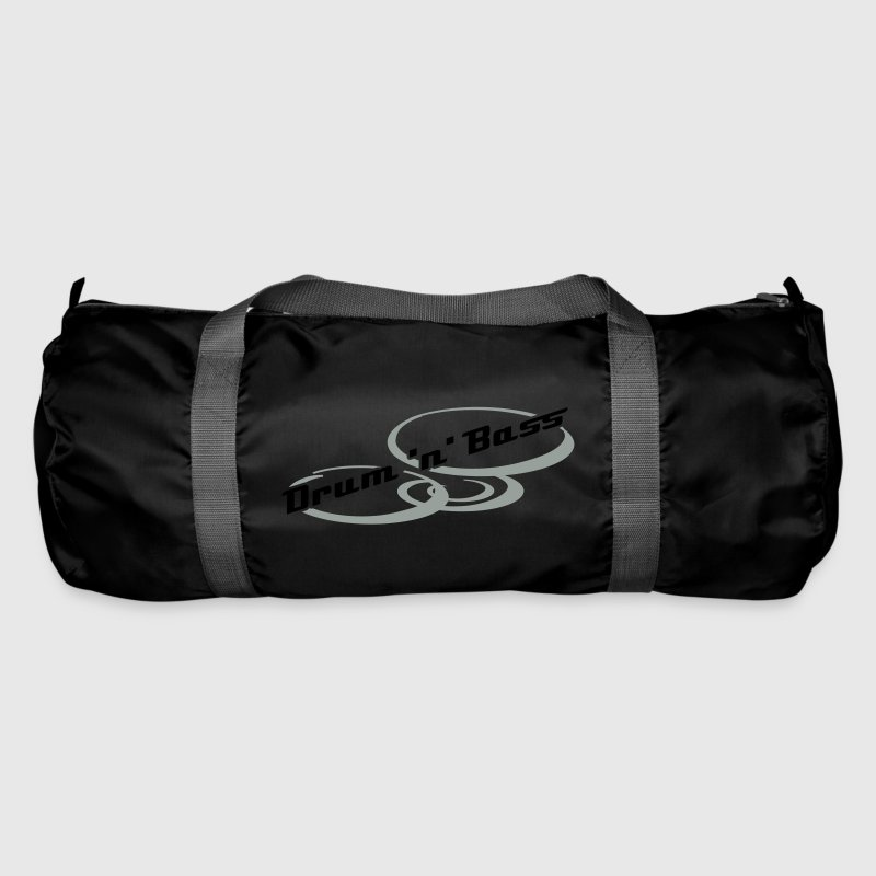 Black Drum 'n' Bass Design Bags  - Duffel Bag