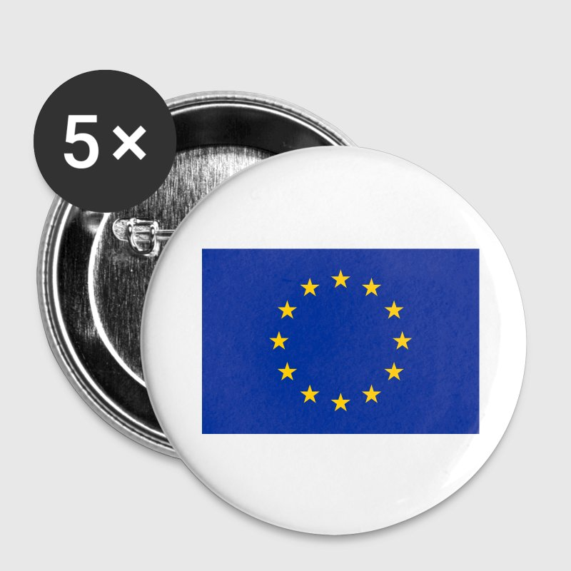 European Union Flag - Buttons small 25 mm