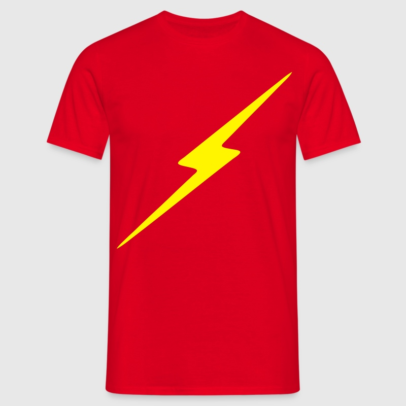 Rouge Eclair T-shirts - T-shirt Homme