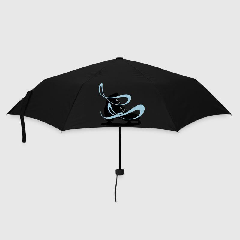 Lilac ice skate Umbrellas - Umbrella (small)