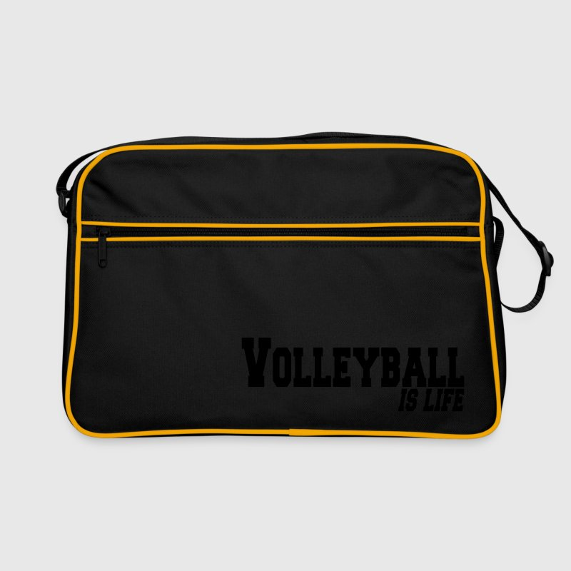 volleyball is life Bags  - Retro Bag