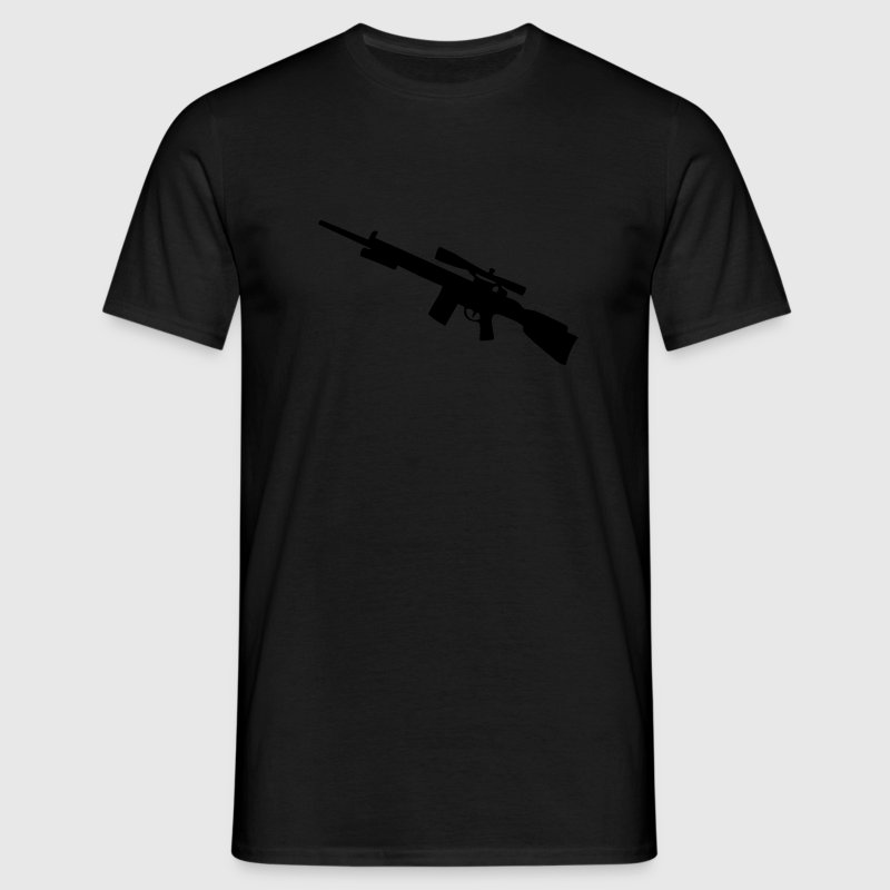 sniper Sniper rifle arme mitrailleuse Gun Weapon T-shirts - T-shirt Homme