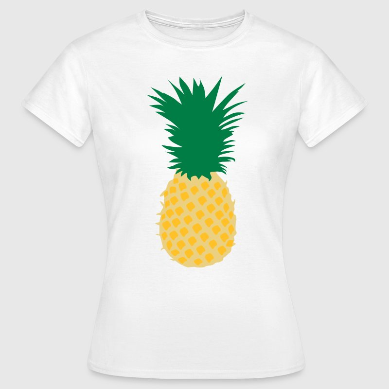 Ananas Pineapple T-Shirts - Frauen T-Shirt