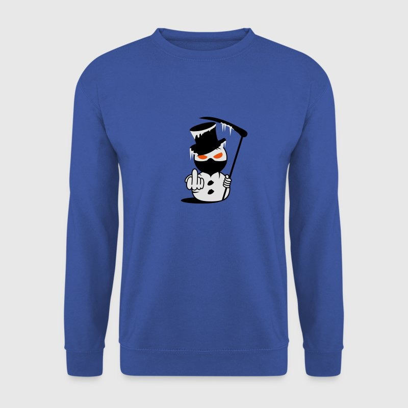 Evil Snowman  Fuck you Hoodies & Sweatshirts - Men's Sweatshirt