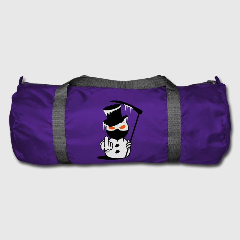 Evil Snowman  Fuck you Bags  - Duffel Bag