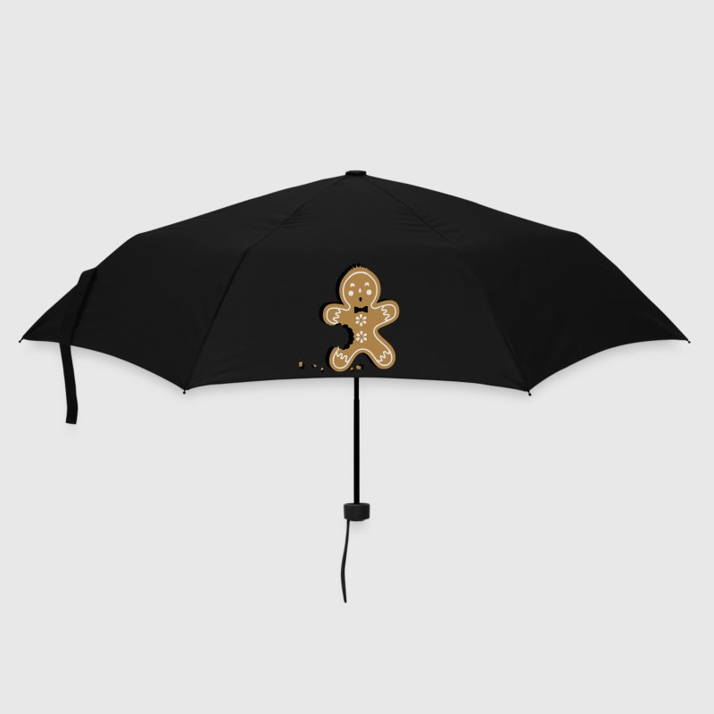The gingerbread man - gingerbread tastes good Umbrellas - Umbrella (small)