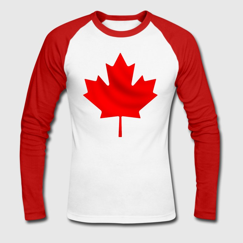 Canada T-shirts manches longues - T-shirt baseball manches longues Homme