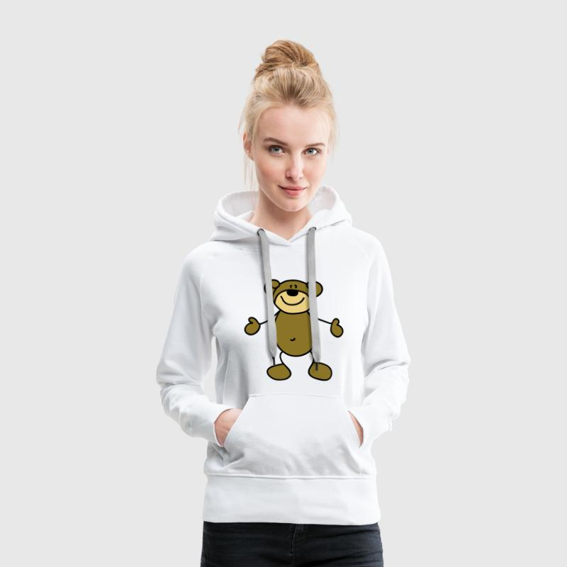 Sweet little bear Hoodies & Sweatshirts - Women's Premium Hoodie