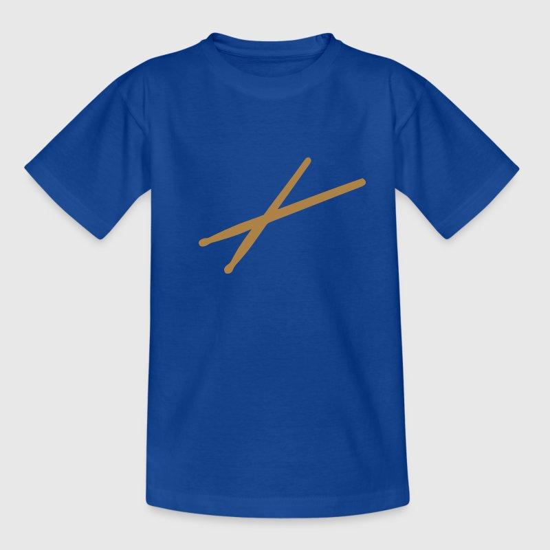 Drum sticks - Schlagzeug Kinder T-Shirts - Teenager T-Shirt