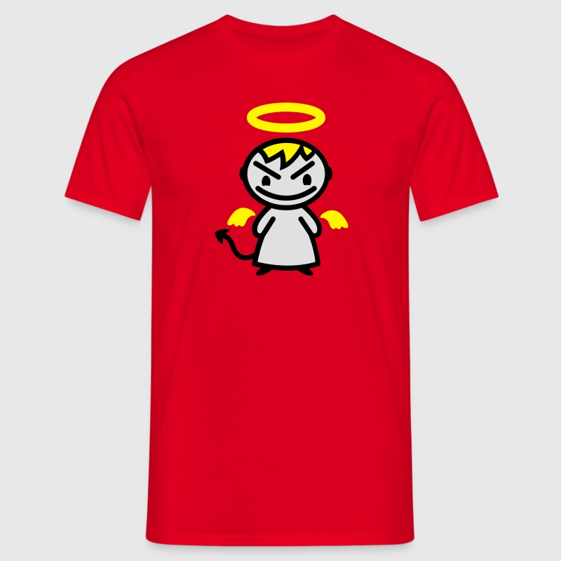 evil angel - Men's T-Shirt