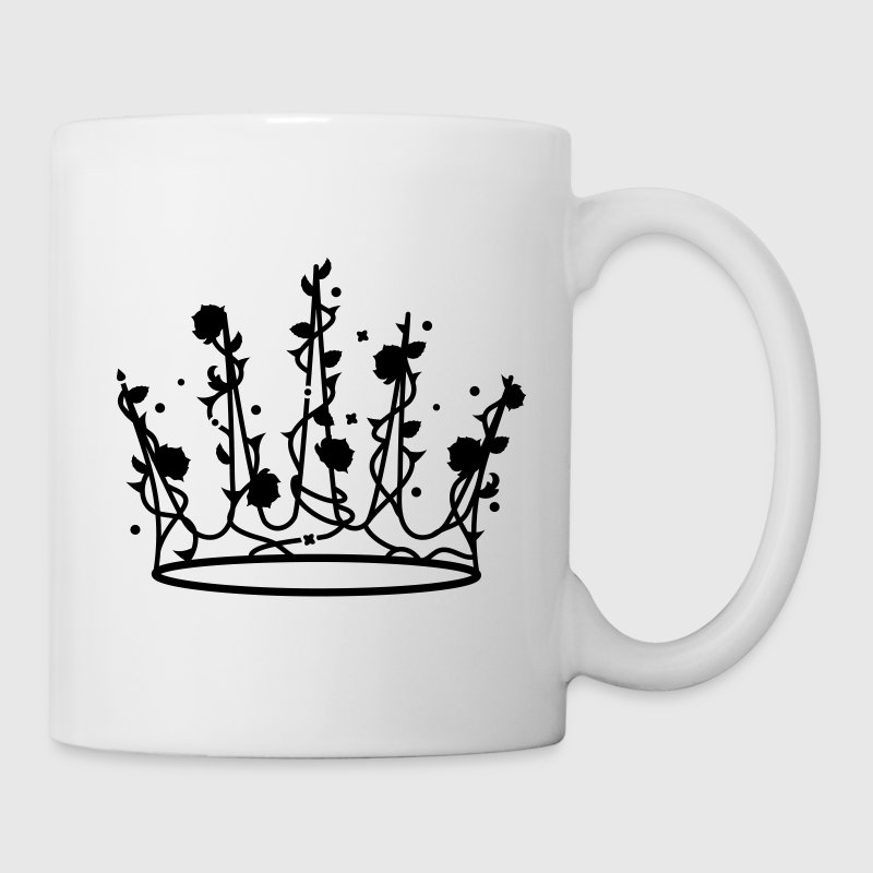 Sleeping Beauty crown of roses and thorns Mugs  - Mug