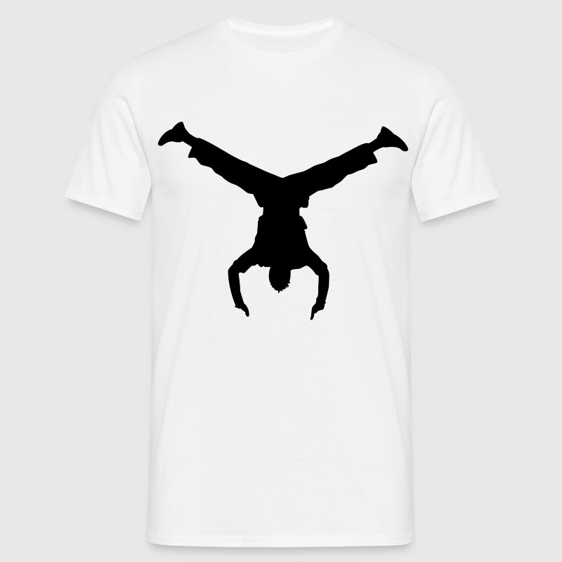 handstand breakdance T-shirts - Mannen T-shirt