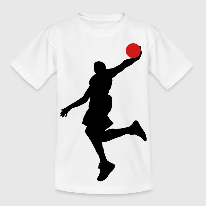 basketball Kinder T-Shirts - Teenager T-Shirt