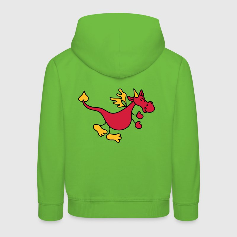 dragon rouge Sweats Enfants - Pull à capuche Premium Enfant