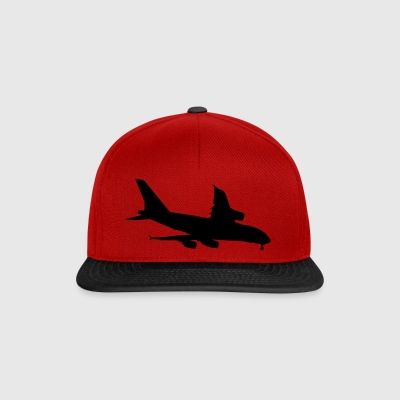 Airplane (Vector) - Snapback Cap