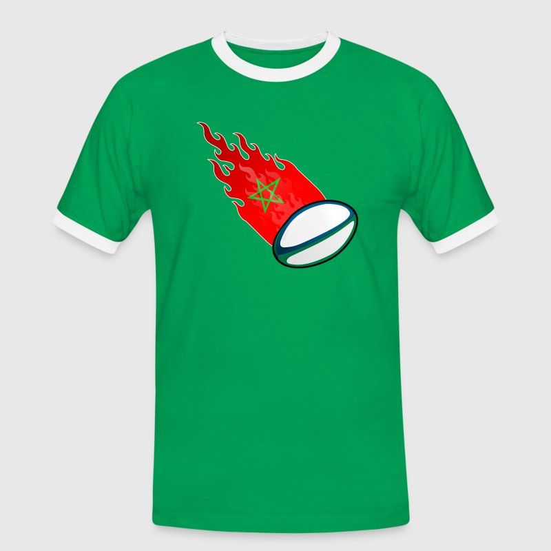 Rugby Fireball Maroc - T-shirt contraste Homme