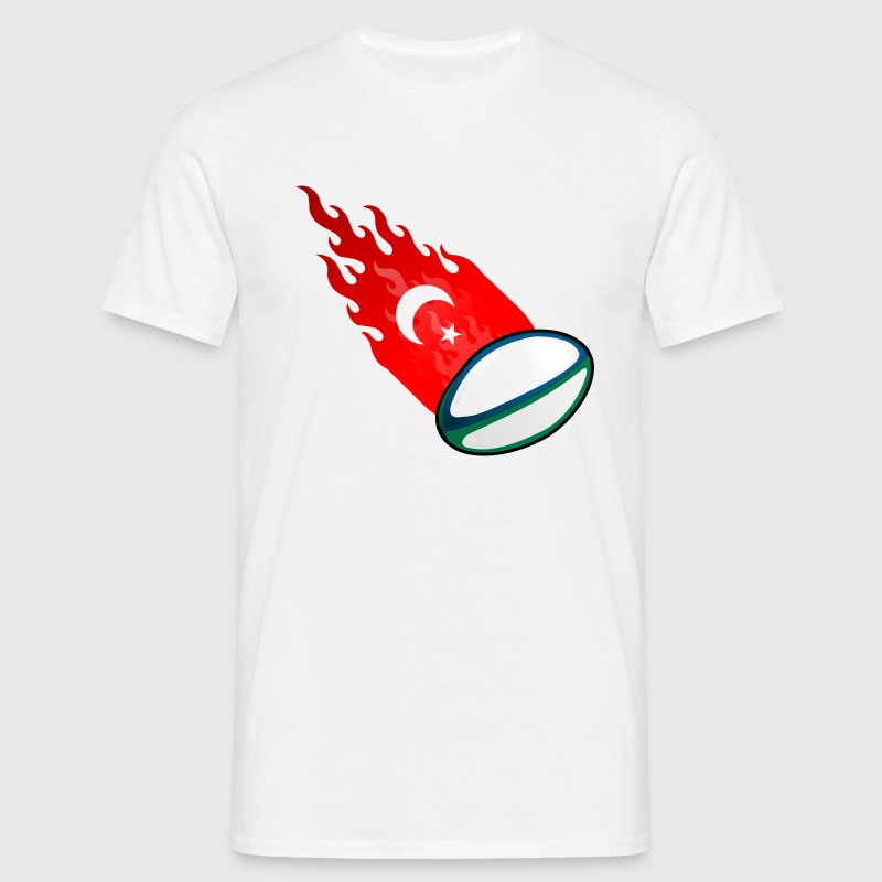 Fireball Rugby Turkey - Men's T-Shirt