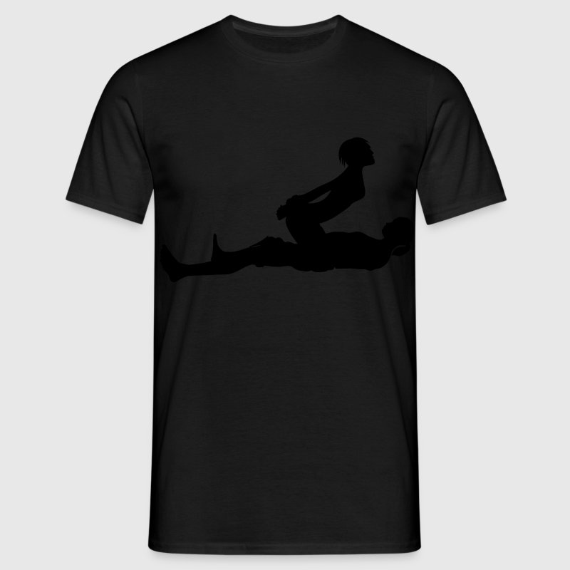 sex position T-Shirts - Men's T-Shirt