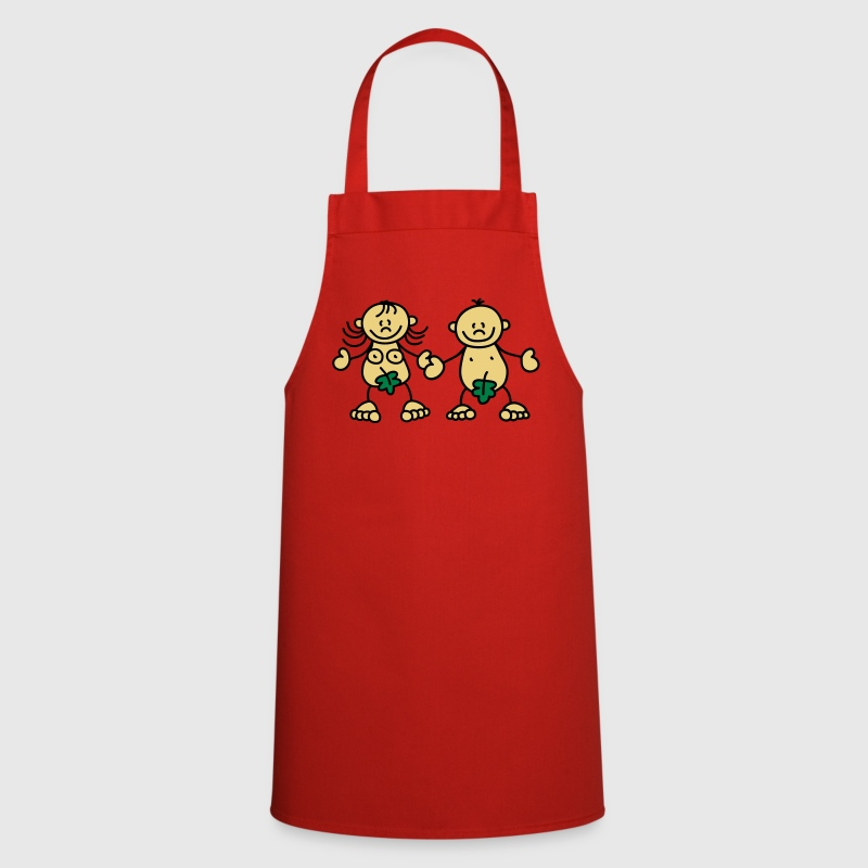 Adam & Eve  Aprons - Cooking Apron