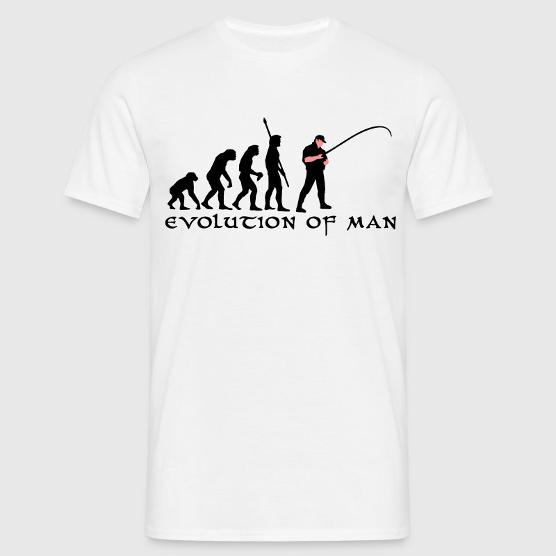 evolution_angler_b_2c T-shirts - Mannen T-shirt