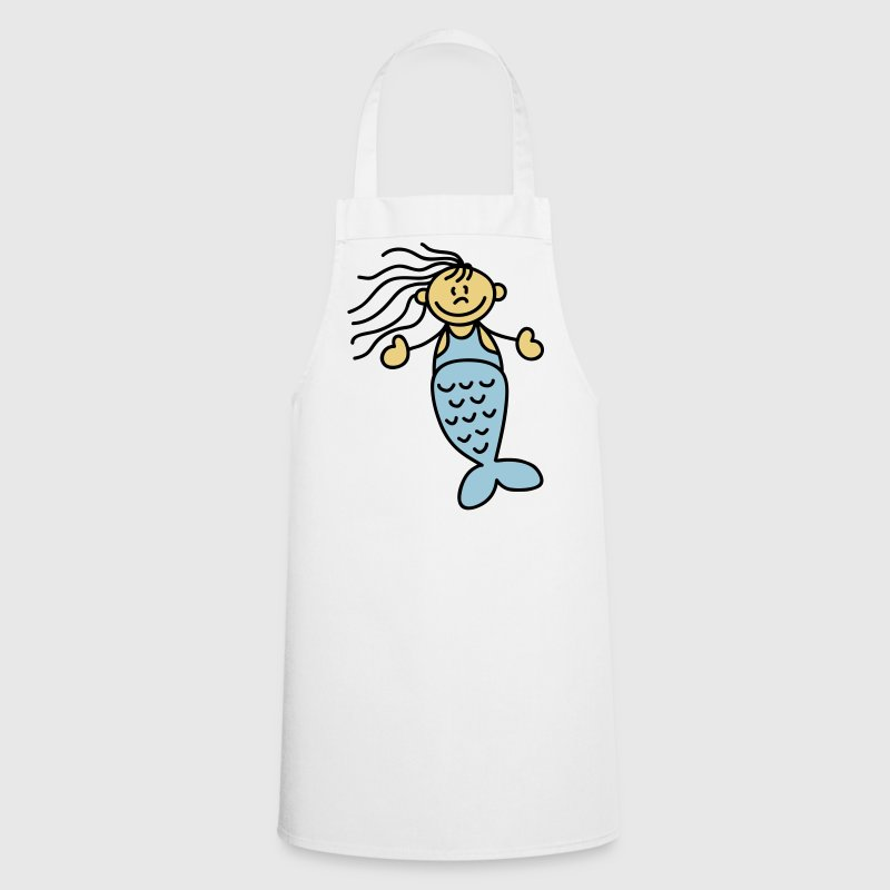 Cute little mermaid  Aprons - Cooking Apron