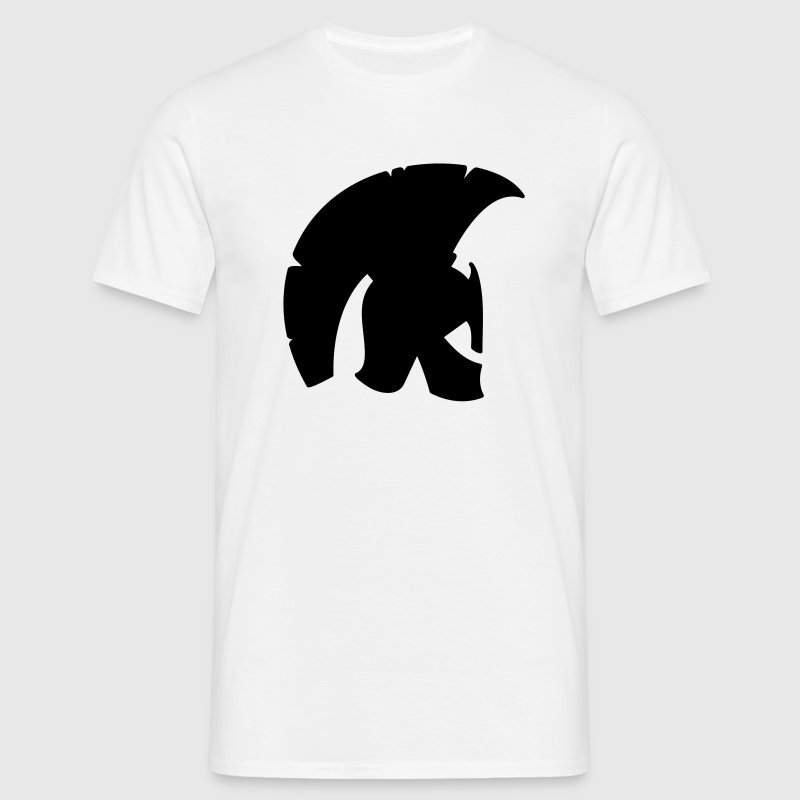 spartan helmet 1c - Men's T-Shirt