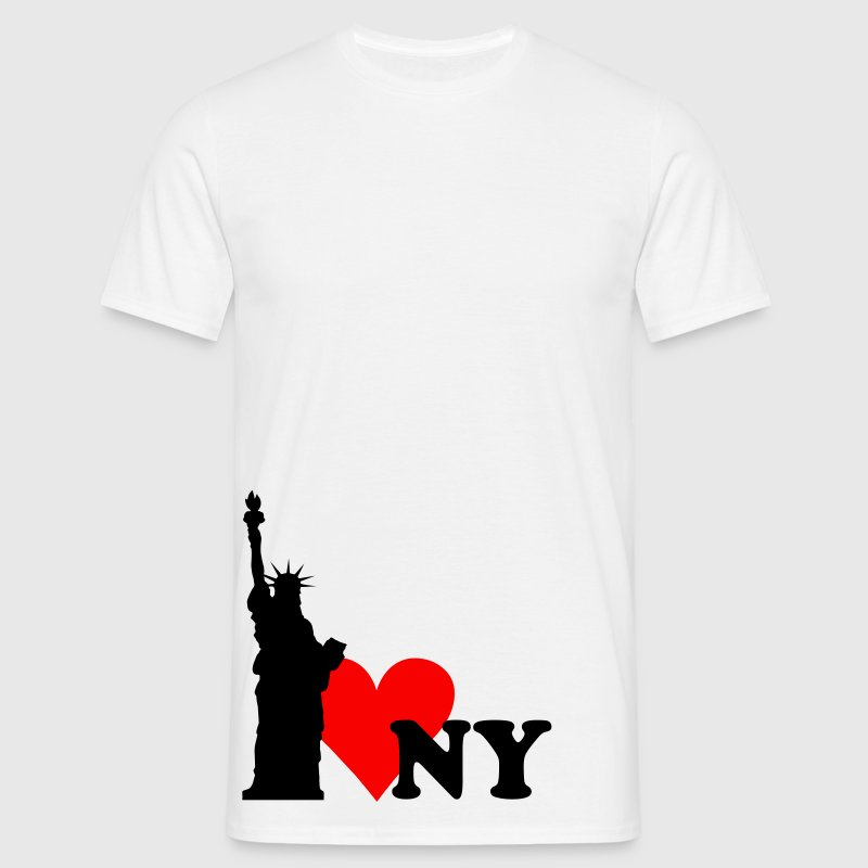 I love New York - NY T-Shirts - Men's T-Shirt