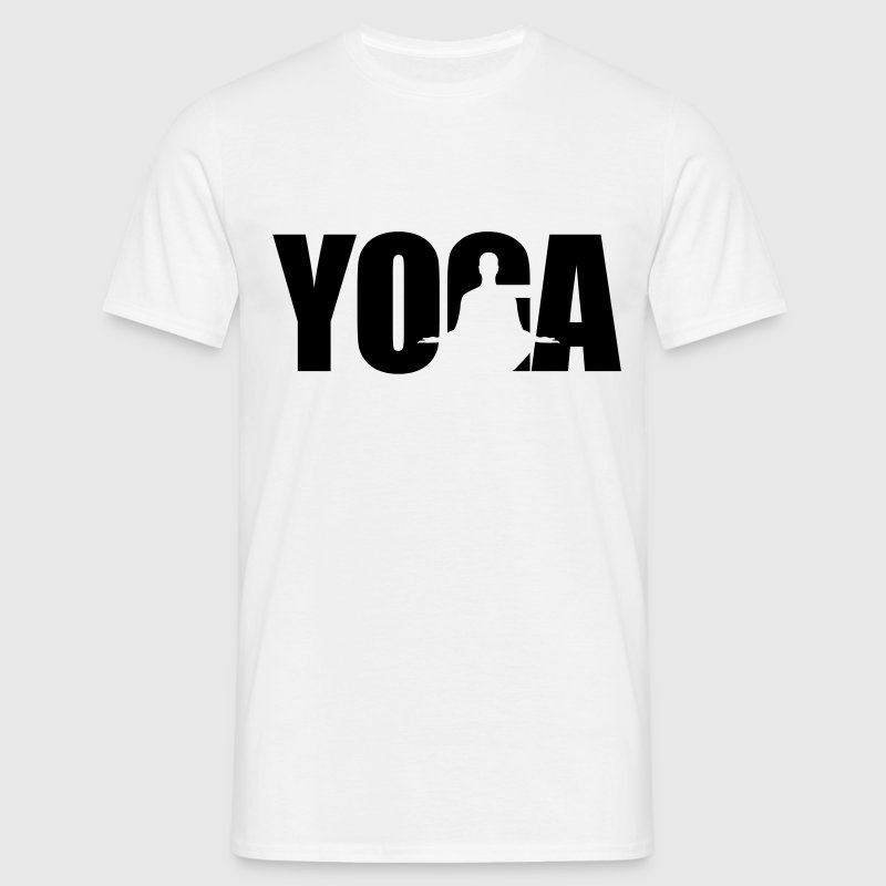 Yoga Font | Ruhe | Pause | Chillen T-Shirts - Men's T-Shirt